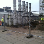 Removing the pillars from the town centre