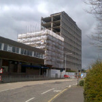 Glenrothes House Demolition May